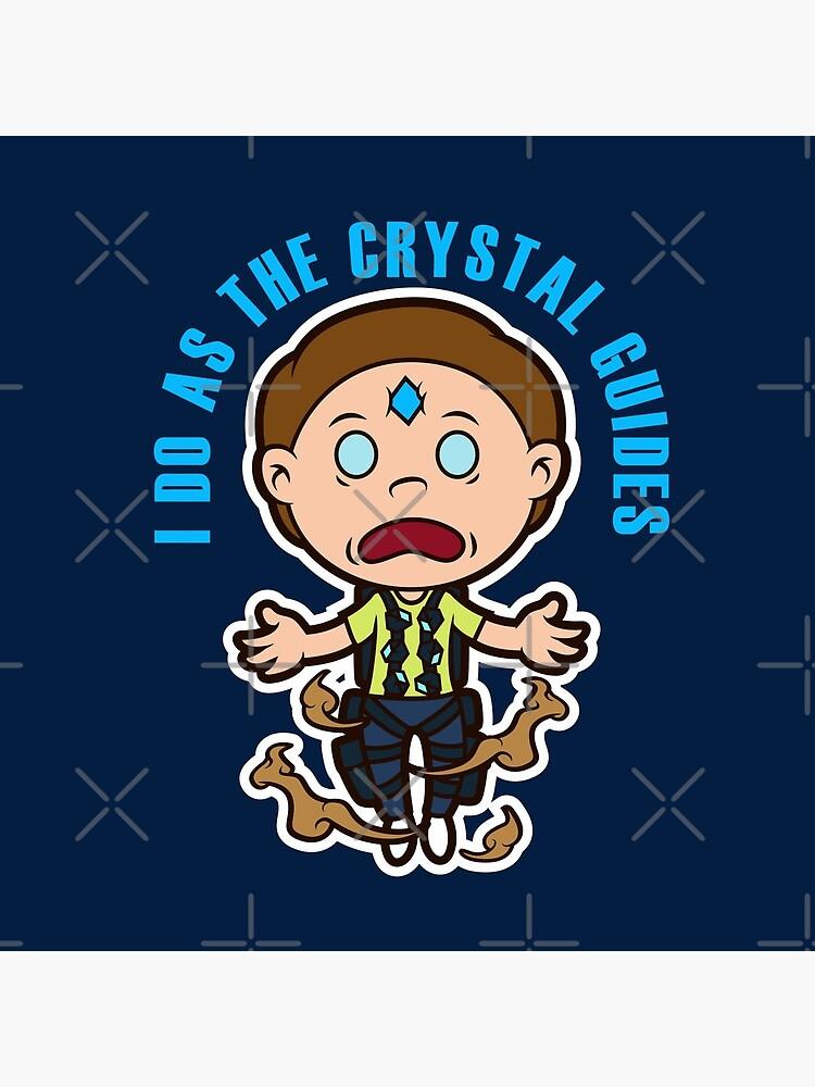 Death Crystal Morty by janlangpoako