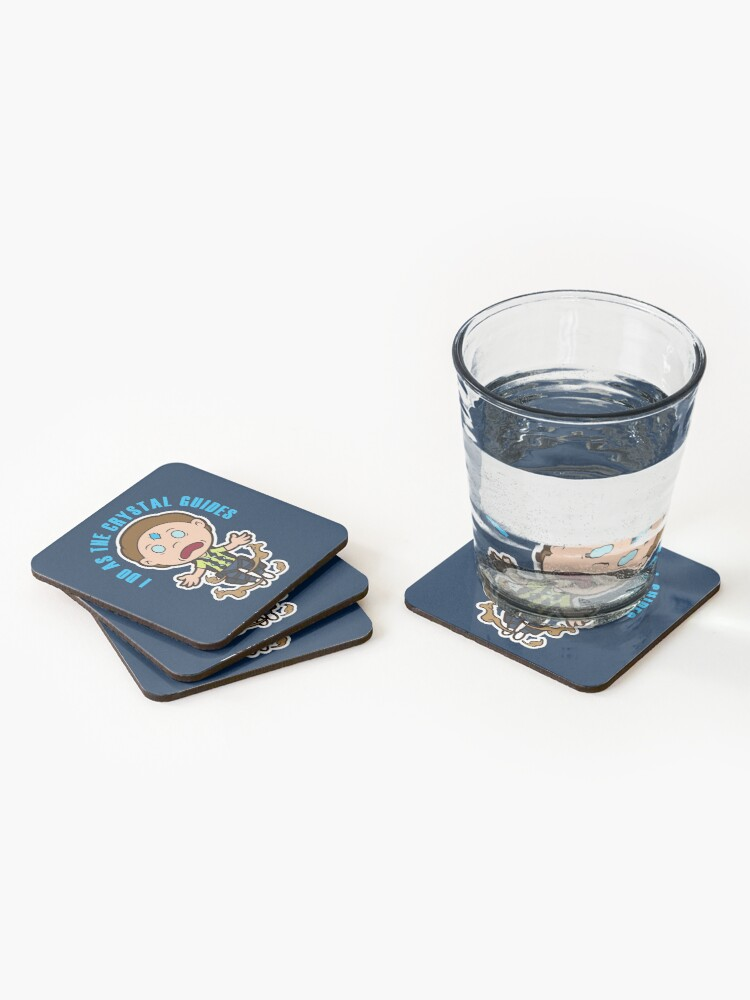 Alternate view of Death Crystal Morty Coasters (Set of 4)