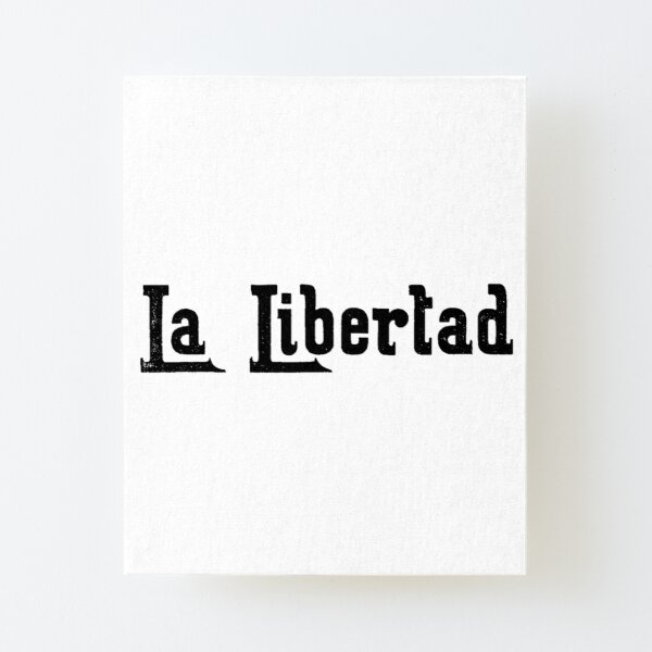 Freedom Canvas Mounted Print