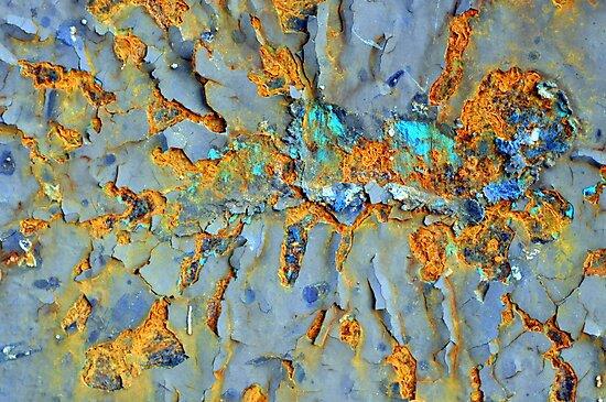Orange Splatter by Marguerite Foxon