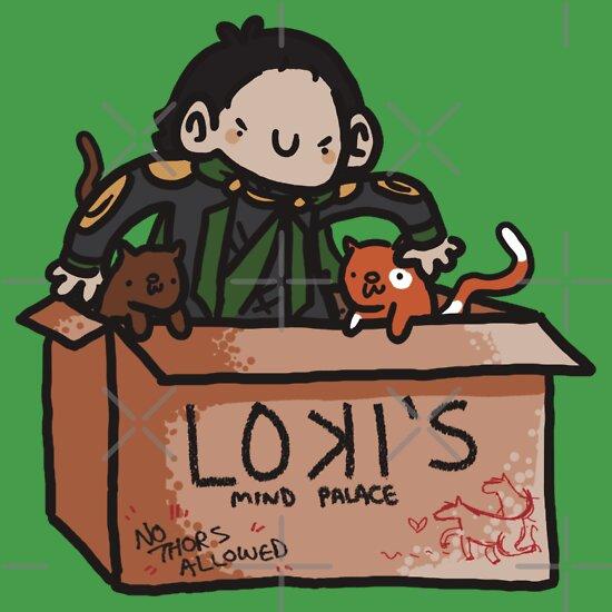 TShirtGifter presents: Loki's Mind Palace
