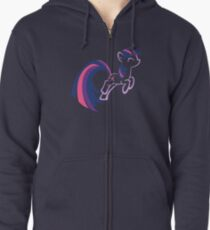 Twilight Sparkle by Up1ter Zipped Hoodie