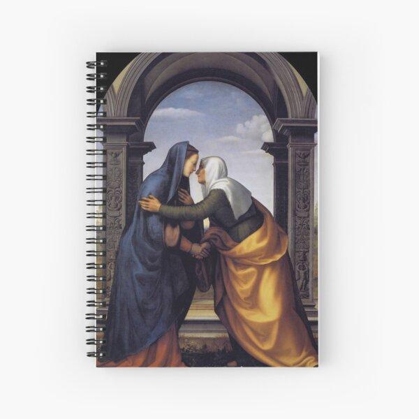 The Visitation Spiral Notebook