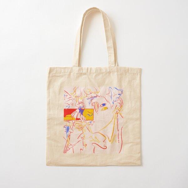 BTS V Primary Colors Digital Drawing Cotton Tote Bag
