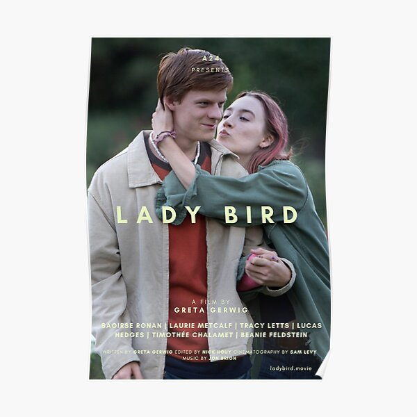 LADY BIRD A24 POSTER Poster