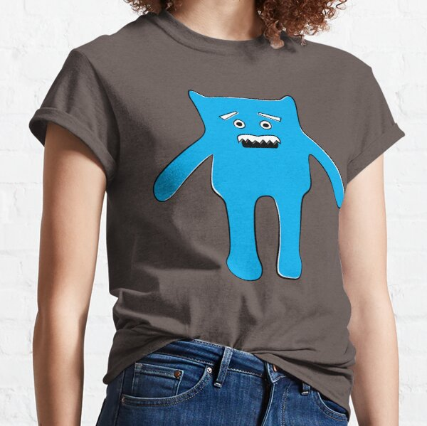 Monster with a Mustache Classic T-Shirt