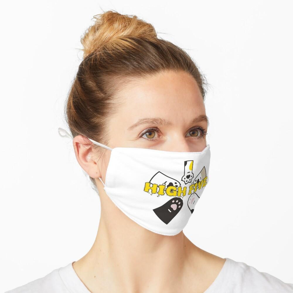 High Five Pfoten - brainbubbles Maske