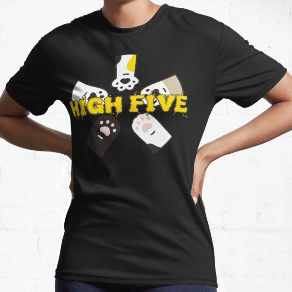 High Five Pfoten - brainbubbles Funktionsshirt