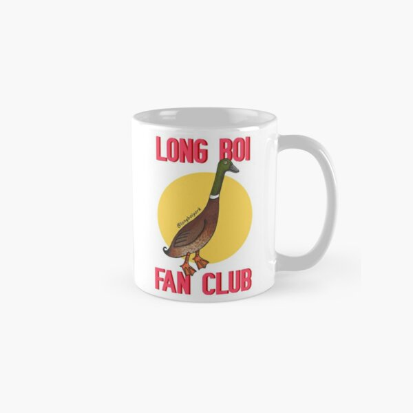 Long Boi Fan Club (Yellow) Classic Mug