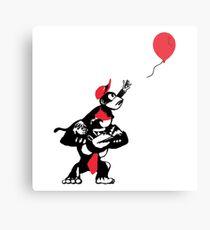 Balloon Apes Metal Print