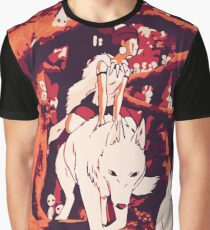 Princess Mononoke Graphic T-Shirt