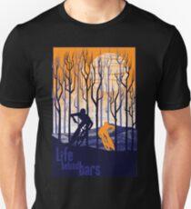 retro mountain bike poster illustration Unisex T-Shirt