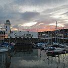 Dusk across the harbour by StephenRB