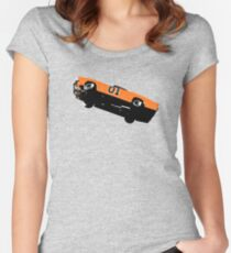 The Dukes Of Hazzard General Lee T-shirt Women's Fitted Scoop T-Shirt