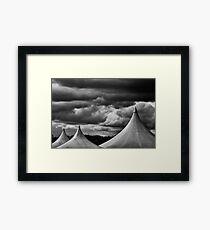 Three Peaks Framed Print