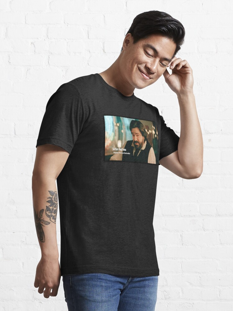 Alternate view of Jackie Daytona - Regular Human Bartender Essential T-Shirt