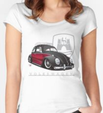 Black 'n Red Women's Fitted Scoop T-Shirt