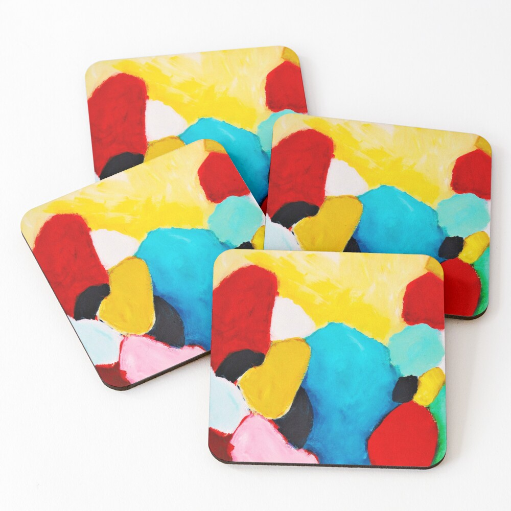 Rocks Coasters (Set of 4)