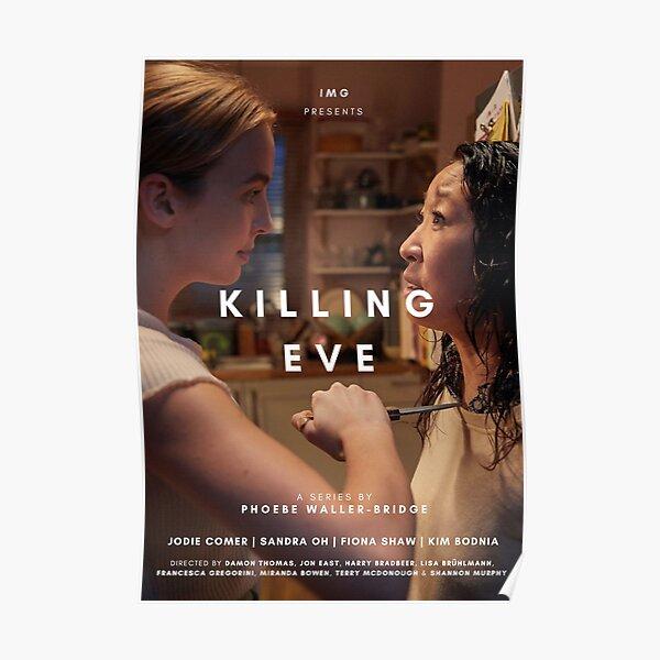 KILLING EVE TV SHOW POSTER Póster