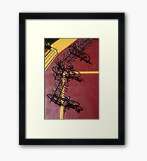 All Aboard Framed Print