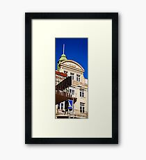 Tell It To the Tall Framed Print
