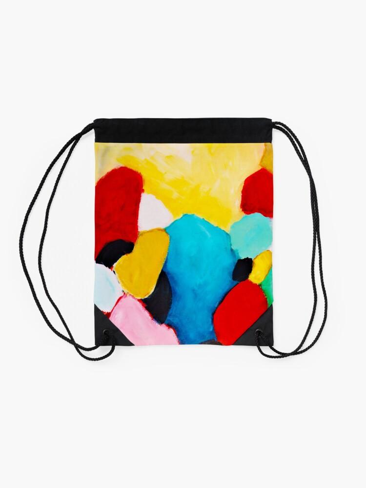 Alternate view of Rocks Drawstring Bag