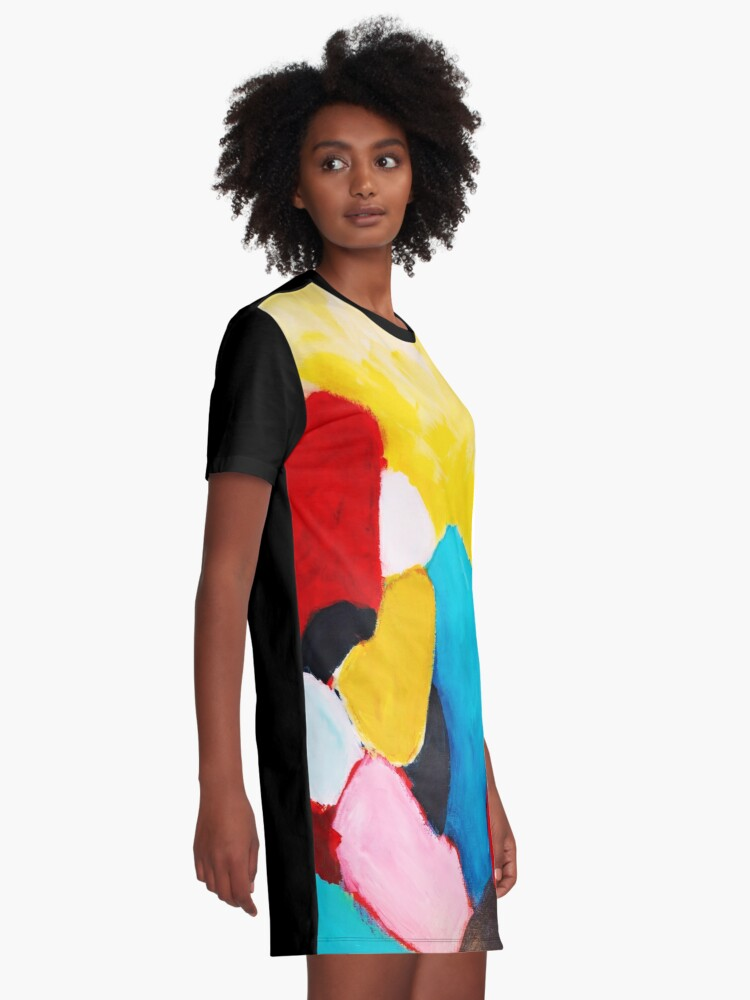 Alternate view of Rocks Graphic T-Shirt Dress