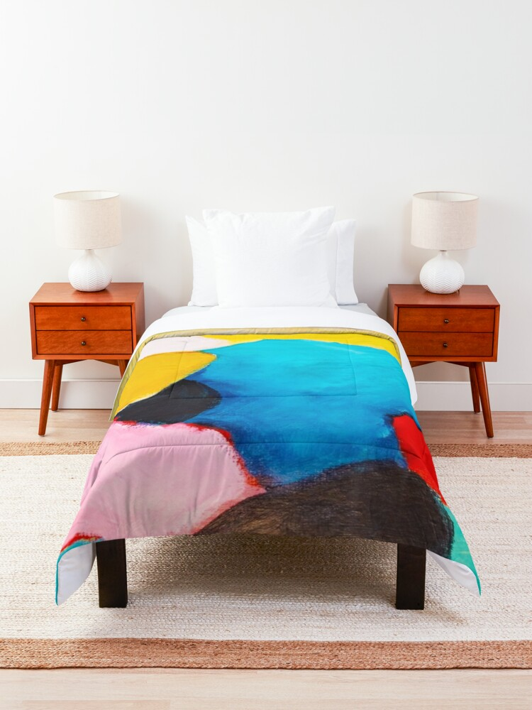 Alternate view of Rocks Comforter