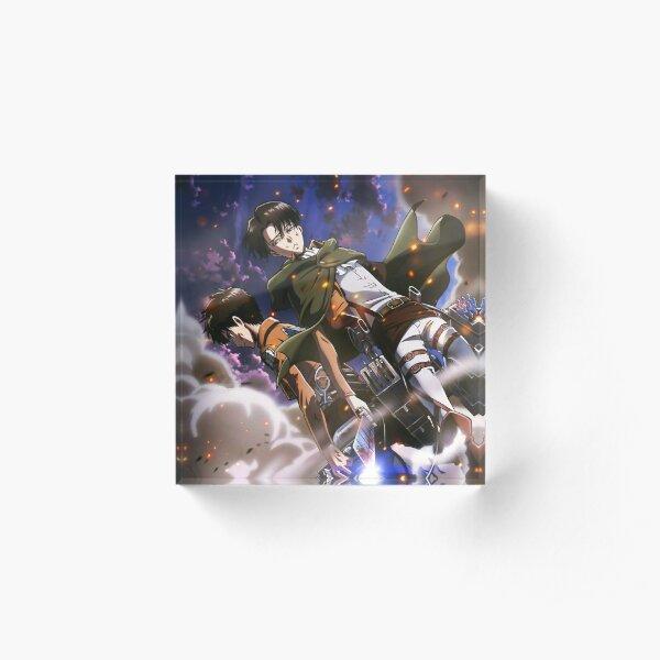 Attaque des titans/SNK Eren x Livai  Bloc acrylique