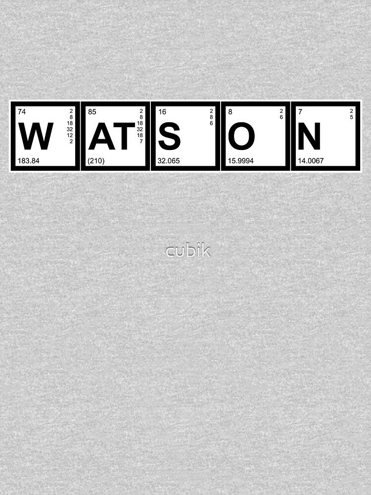 Elementary (My Dear) Watson by cubik