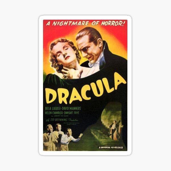 Dracula - Bela Lugosi. Sticker