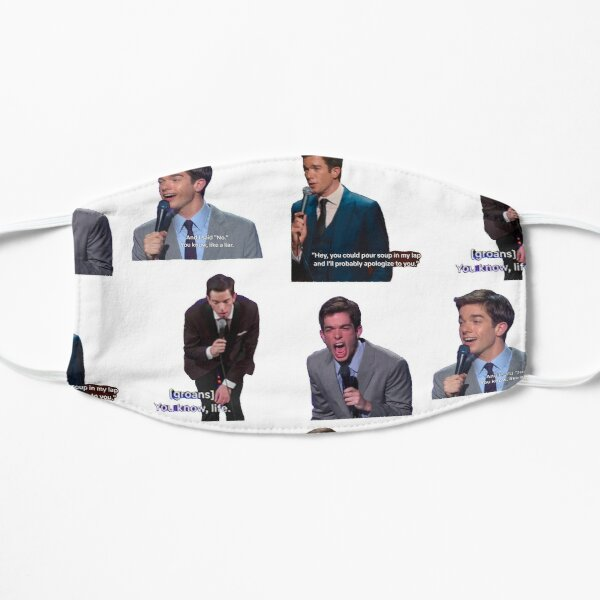John Mulaney Sticker Pack Mask