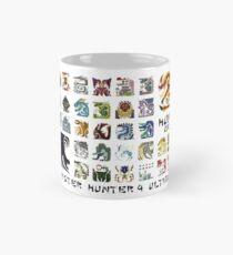 Monster Hunter 4 Ultimate 'Hunt Me' Design Tasse (Standard)