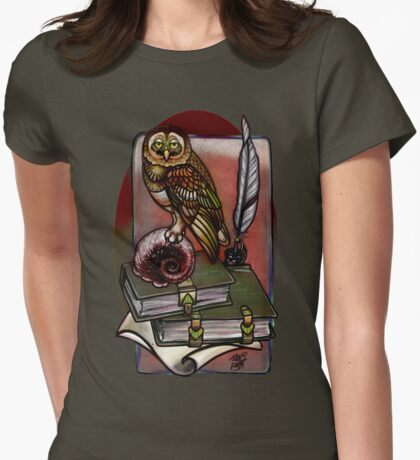 a more subdued owl. T-Shirt