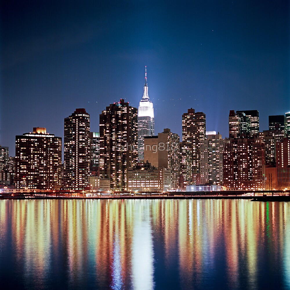 The reflection of a big city - NYC by sxhuang818