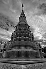 Stupa of HM King Suramarit and HM Queen Kossomak, Cambodia by Michael Treloar