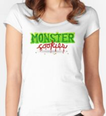 Monster Cookies Women's Fitted Scoop T-Shirt