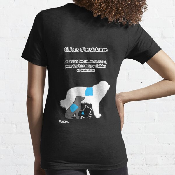 Trois Chiens Psy'chien T-shirt essentiel