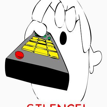 Dogbert Silence by MrJamma