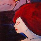 scarlet bloom by Ellen Keagy