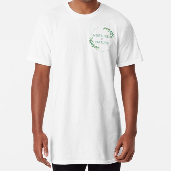 Nurtured By Nature Flowers Long T-Shirt