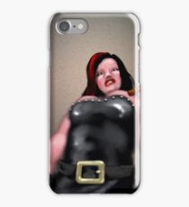 You have fallen, but it is okay, Geraldine has a first-aid kit. iPhone Case/Skin