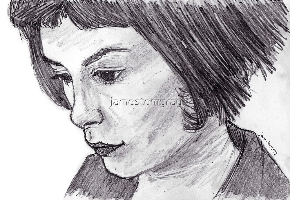 Audrey Tautou by jamestomgray