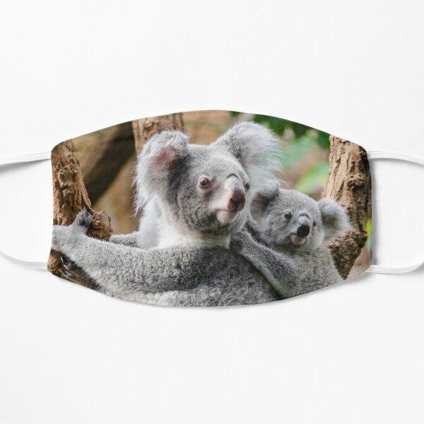 Koala, maman bébé Masque sans plis