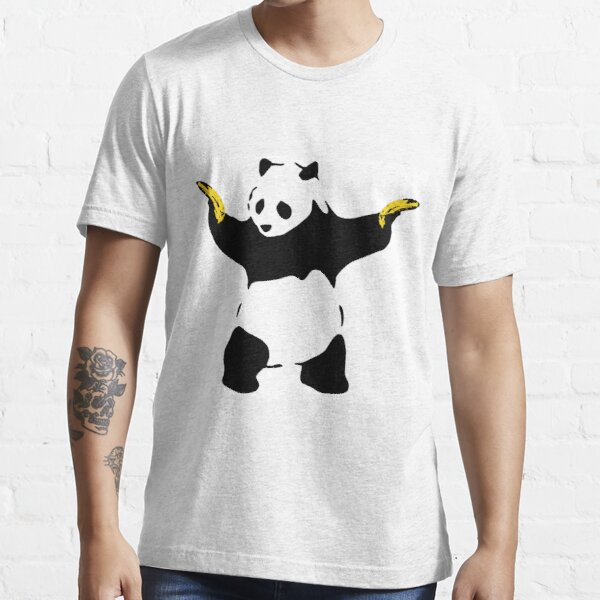 Bad Panda Stencil Essential T-Shirt