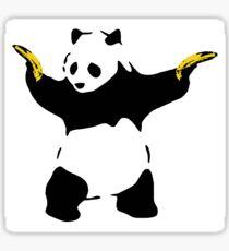 Bad Panda Stencil Sticker
