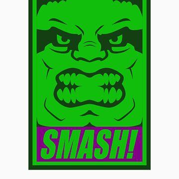 SMASH! - Undistressed version by BlairJCampbell