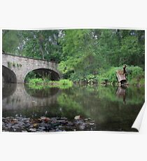 Tranquility of Clarks Creek Poster