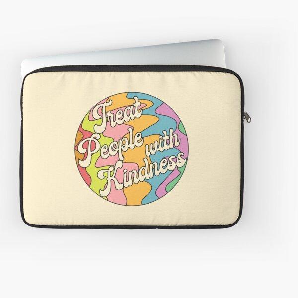 Groovy Treat 'Em With Kindness Design Laptop Sleeve