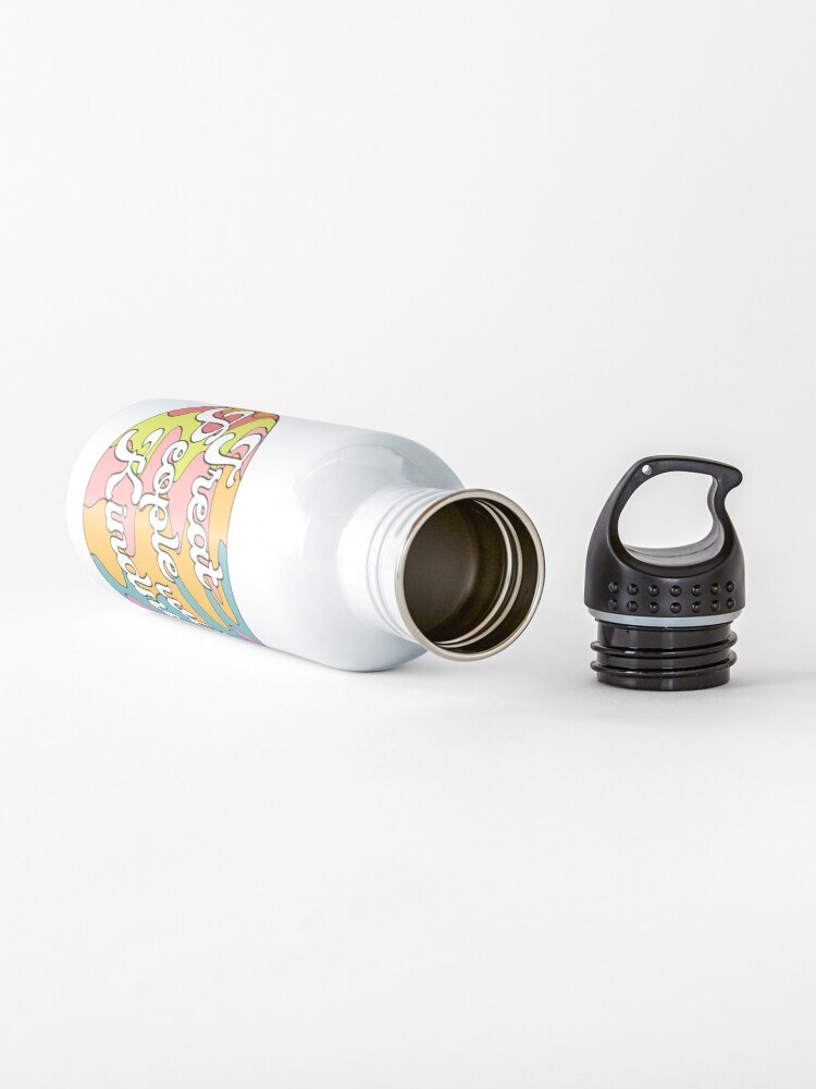 Alternate view of Groovy Treat 'Em With Kindness Design Water Bottle